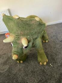 Kota the Robotic Triceratops Dinosaur