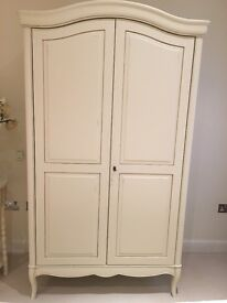 French style John Lewis Wardrobe and two bedside tables - £239.00