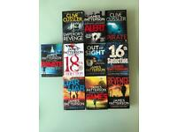 James Paterson, Clive Cussler Books