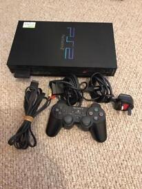 PlayStation 2 Fat Version Black/Silver