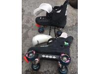 Vintage Bauer quad skates