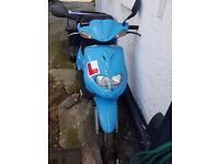 Scooter TGB delivery moped for sale.