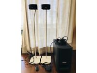Bose CineMate GS Series 2 Speaker System w UFS 20 Interface Module Floorstands
