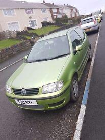 VW Polo W reg