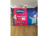 Pillows 4 pack Silentnight