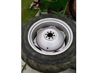 Massey Ferguson 135 Wheels & Goodyear Tyres MF Rims