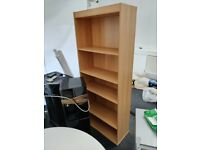 A Spatious Wooden Bookshelf for your Living Room or Office space