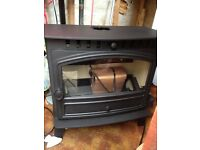 Hunter herald 8 slim wood burning stove