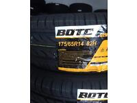 Tyres for sale 175/65/14 brand new