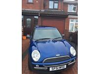 Mini one, 2001, £1400, *low mileage*