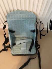 Baby travel highchair only used once
