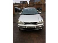 Vauxhall Astra 1.6 i club 4dr 2001 clean condition