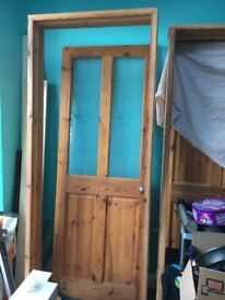 Interior Doors and Frame & UPVC back door and frame