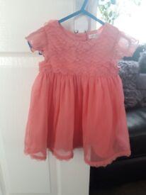 Rocha Little Rocha dress and cardi 6-9months