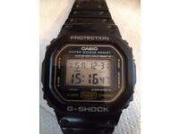 Casio G-Shock dw 5600C-1V ( japan) watch for sale
