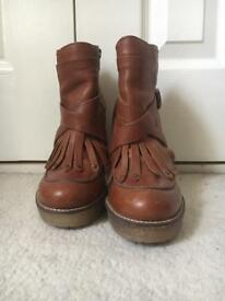 Next western style boots size 5