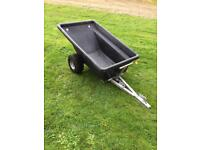 SCH Dump Tipping Trailer (ATV or Lawn Tractor)