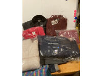 Joblot Bundle of Brand New Childrens And Adults Clothes