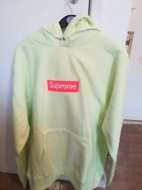 Supreme fw17 lime and orange bogo