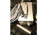 Schoeps CM64 valve microphone, early 1960's, rare, similar to KM64
