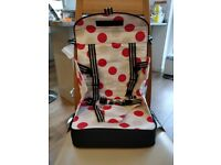 Travel booster seat - brand new