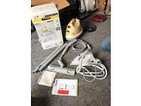 Karcher K1102 Steam Cleaner with iron, accessories and instructions NEW