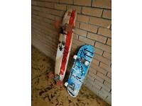 Long board and skate board