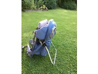 Ultra lightweight Montbell Baby carrier - Almost new, hardly used