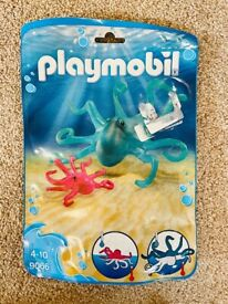 Colour Changing Playmobil Octopus and Baby