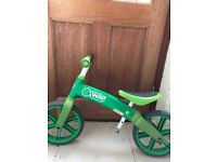 Balance bike for kids with adjustable seat in good condition
