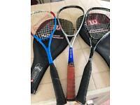 Squash rachets