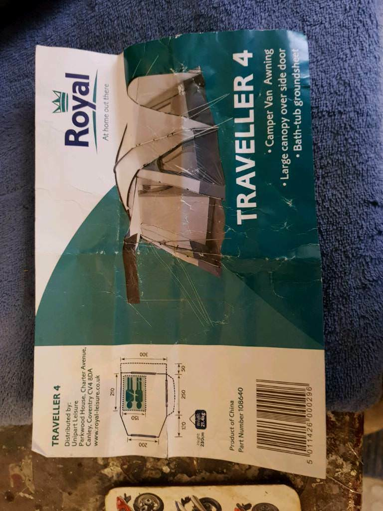 Royal traveller 4 drive away awning | in Bexhill-on-Sea ...
