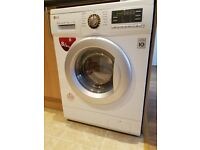 LG washer dryer 8kg/5kg white - almost new!