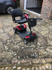 Pride Mobility Scooter less than 2 years old new battery (due to non use of original)