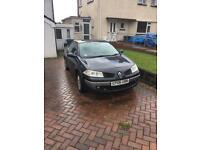 2006 Renault Megane Convertible 1.9L Diesel 120k miles for spares or repair