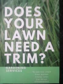 **Gardening**