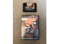 Sega Mega Drive Game Bonanza Bros