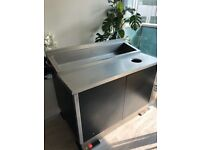 Catering Stainless Steel Table Station