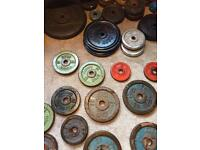 Iron weight plates wanted