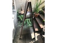 Large wooden A Board - needs repair/TLC
