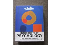 Introductory Psychology by Tony Malim and Ann Birch [Paperback]