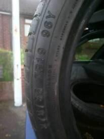 Tyre's 275/35 ZR19