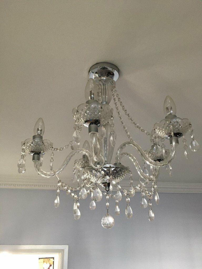 Chandelier light fittings x 2 in morley west yorkshire gumtree