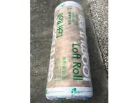 Insulation- Earthwool 100mm thickness x 1 roll new & sealed