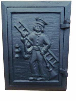 Cast Iron Fire Door Clay Bread Oven Pizza Stove Quality Black (FM) 28 x 20,7