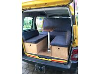 Camper pod to fit Berlingo & Peugeot Partner boot jump