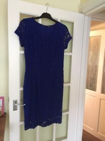 Blue dress size 14