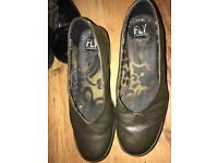 Fly London size 5green