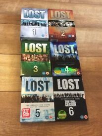 LOST DVD COMPLETE SERIES 1-6