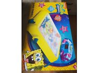 spongebob super pinball game excellent condition boxed.